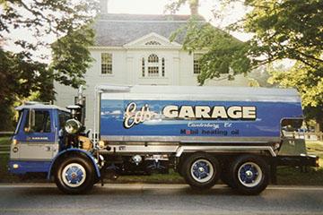 Ed's Garage, Inc. Heating Oil Truck