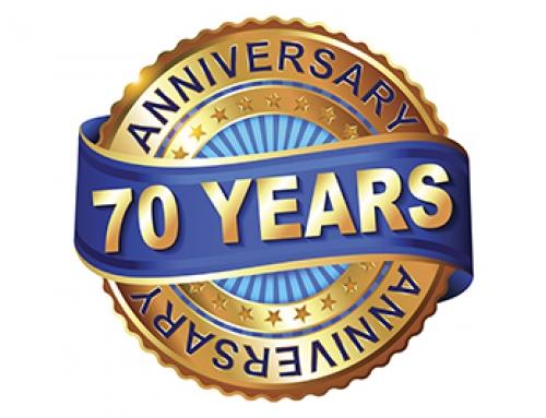 We're 70!