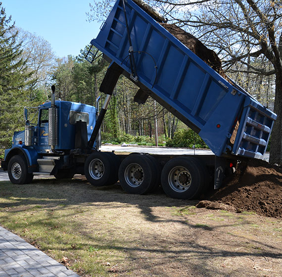 Ed's Garage, Inc. Sand and Gravel Loam Delivery